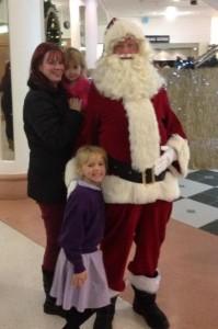 Santa and family edit 2013