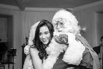 Laura with Santa